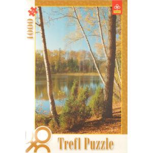 Puzzle 1000 pièces – Lac Olsztyn, Pologne