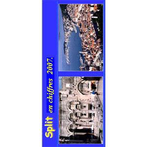 La ville de Split en chiffres 2007