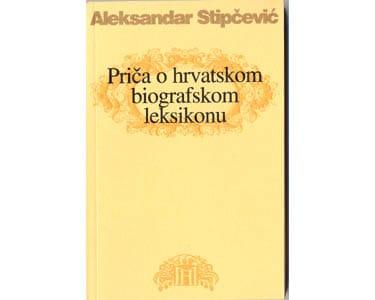 Livre en croate : Aleksandar Stipčević – Priča o